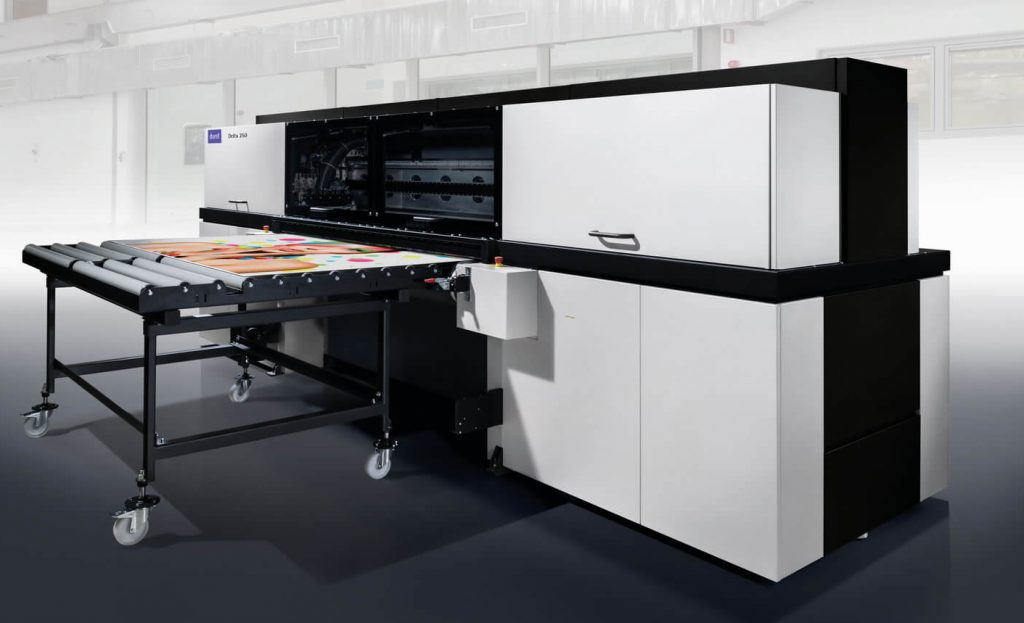 Durst Delta 250 multi pass UV Printer